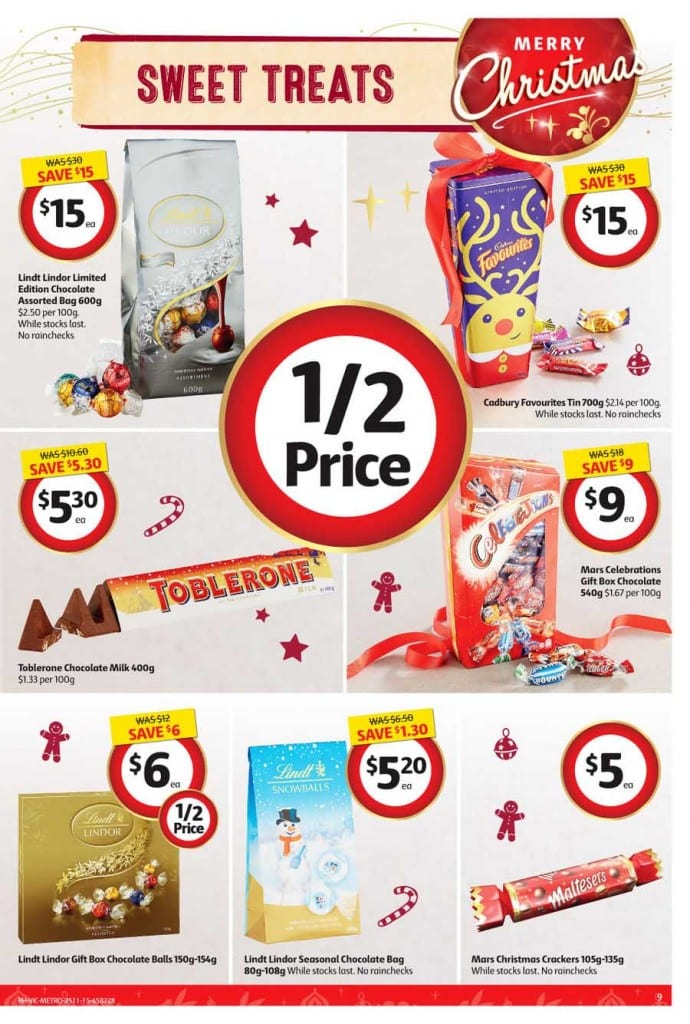 Coles Christmas Sale Catalogue 25 - 1 Dec 2015