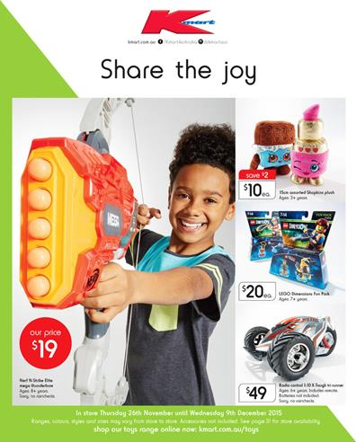 Entertain Kmart Catalogue Toys 27 Nov 2015