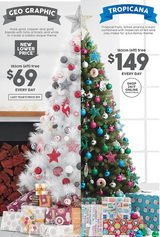 target catalogue christmas sales 19 25 nov 2015 - Target Christmas Decorations Sale