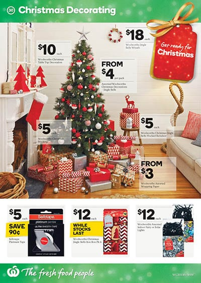 woolworths catalogue christmas specials 11   17 nov 2015