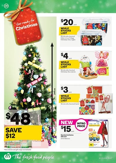 - Woolworths Catalogue Christmas Specials 4 Nov 2015