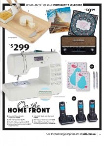 ALDI Catalogue Special Buys 9 - 15 Dec 2015