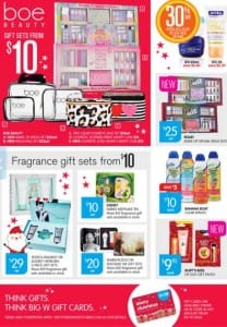 Big W Christmas Offers Catalogue 10 - 24 Dec 2015