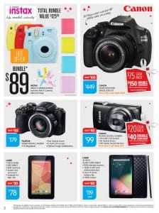 Big W DSLR Camera Catalogue 17 - 24 Dec 2015