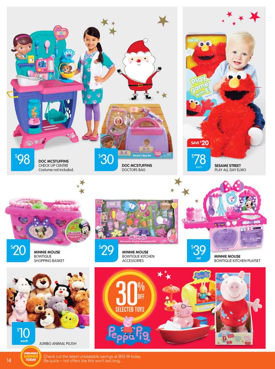 Big W Educational Toy Catalogue 3 9 Dec 2015