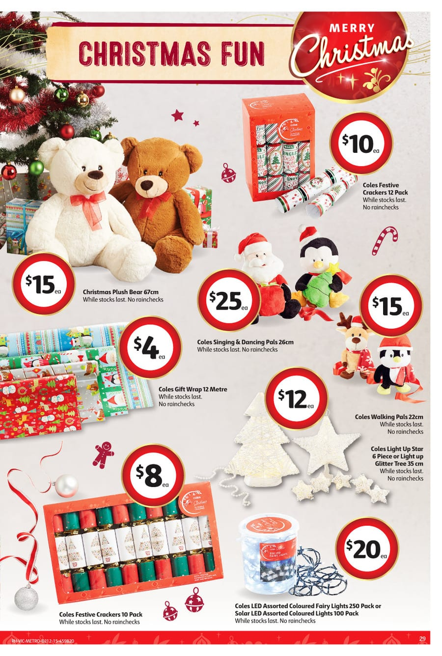 Christmas Decorations At Aldi : Coles christmas decoration catalogue dec