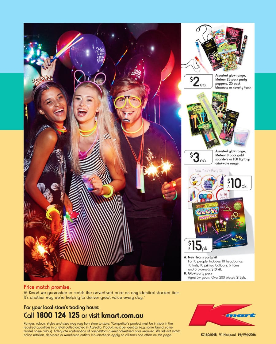 Kmart Christmas Party Catalogue 26 - 6 Jan 2016