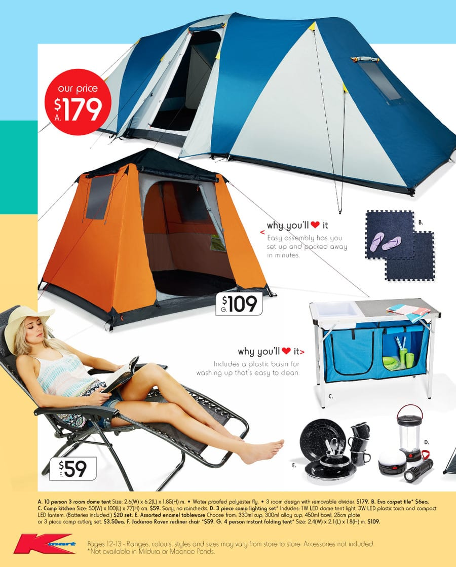 sc 1 st  Australia Online Catalogues & Kmart Outdoor Catalogue 26 - 6 Jan 2016