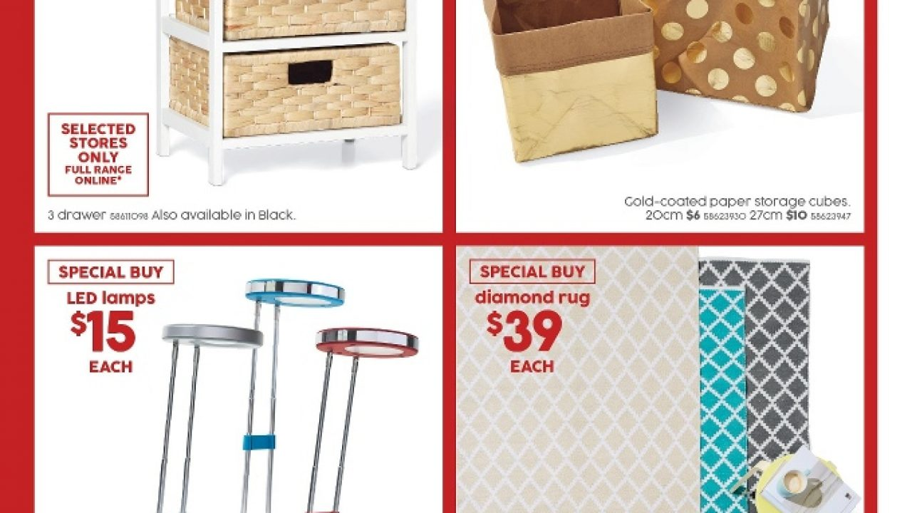 Target Catalogue Furniture Sale 24 Dec