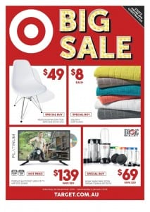 Target Big Sale Catalogue 24 - 30 Dec 2015