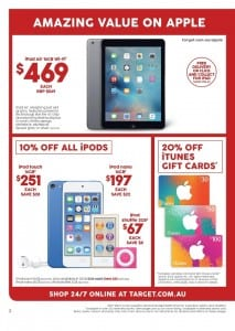Target Christmas Specials Catalogue 24 - 30 Dec 2015