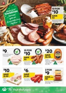 Woolworths Catalogue Food Festive 2 - 8 Dec 2015
