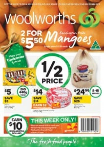 Woolworths Catalogue Special Offers 2 - 8 Dec 2015
