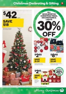Woolworths Christmas Decoration Catalogue 2 - 8 Dec 2015