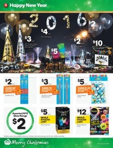 Woolworths Christmas Party Catalogue 23 - 29 Dec 2015