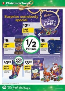 Woolworths Christmas Treats Catalogue 2 - 8 Dec 2015