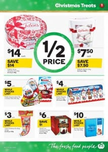 Woolworths Christmas Treats Catalogue 9 - 15 Dec 2015