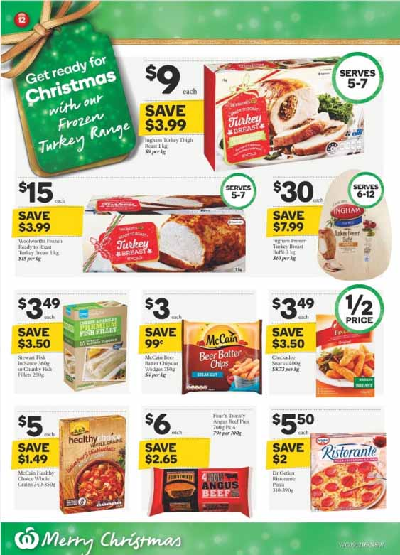 woolworths food specials catalogue 9
