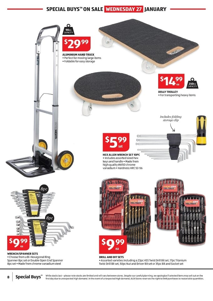 Aldi home supplies catalogue 28 3 feb 2016 - Catalogue 3 suisses 2016 ...