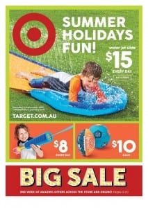 Target Summer Fun Catalogue 1 - 6 Jan 2016