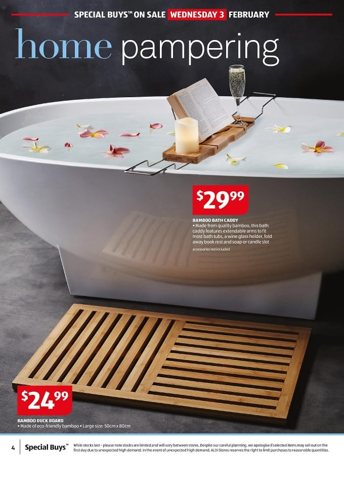 Aldi bathroom sale catalogue 28 3 feb 2016 - Catalogue 3 suisses 2016 ...