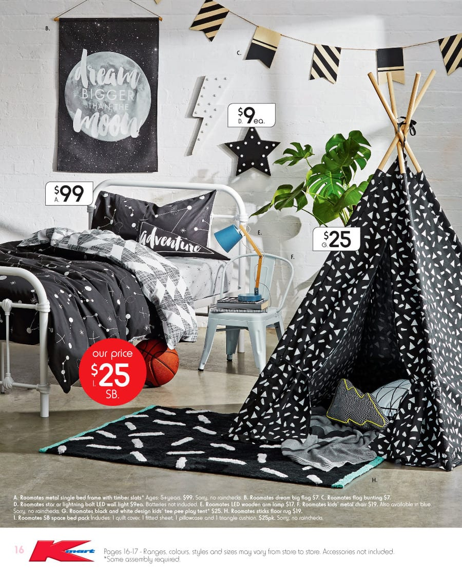Kmart decorating catalogue 1 20 feb 2016 for Home decorations kmart