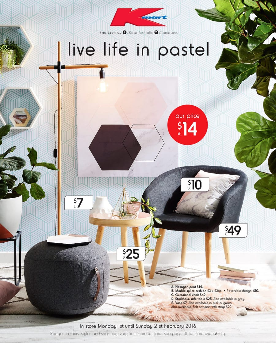 kmart home sale catalogue 1 21 feb 2016