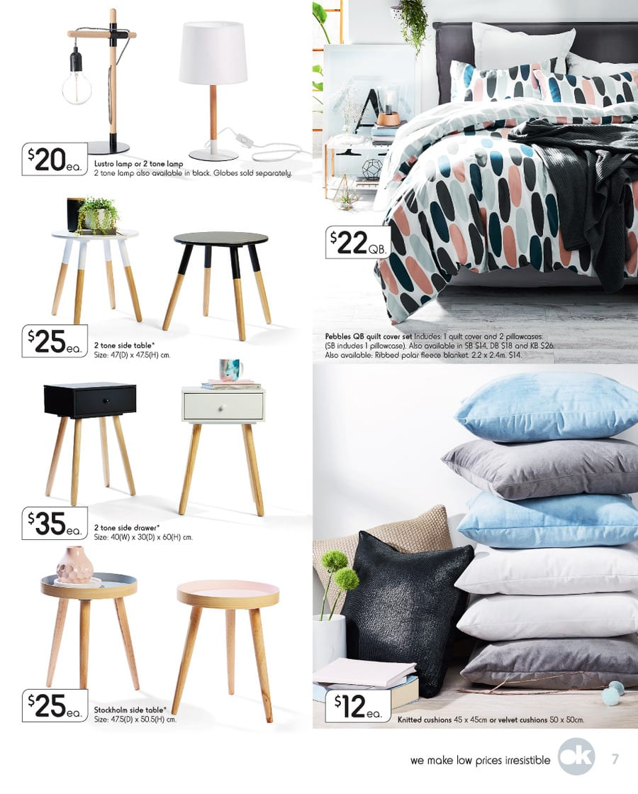 Electric Throw Rug Harris Scarfe: Kmart Special Sale Catalogue 2