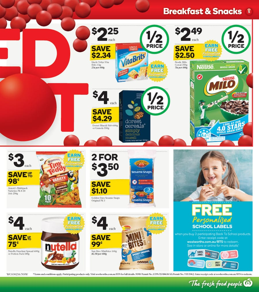 Woolworths redspot catalogue 3 9 feb 2016 - Catalogue 3 suisses 2016 ...