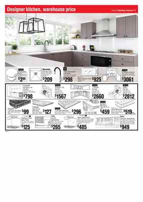 Bunnings Kitchen Sale Catalogue 3 Mar 2016