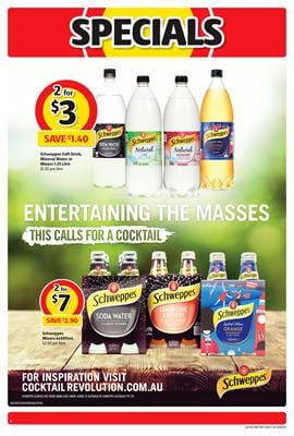Soft Drinks Special Coles