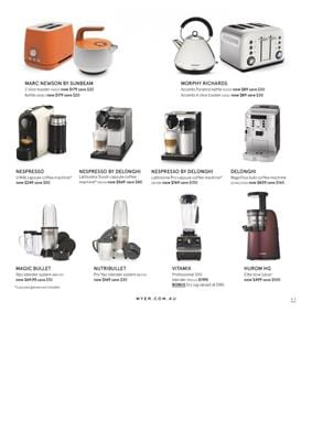 Myer Catalogue Hurom HG Elite Slow Juicer Price
