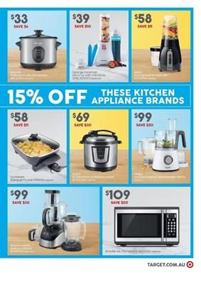 Target Catalogue Breville Microwave Mar 2016