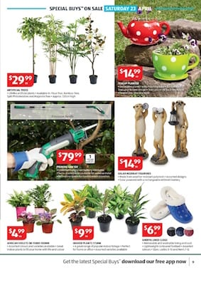 Aldi catalogue gardening specials apr 2016 for Aldi gardening tools 2016
