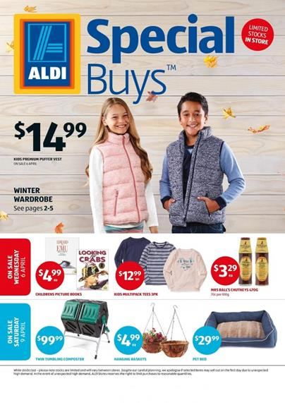 ALDI Catalogue Special Buys Week 14 2016