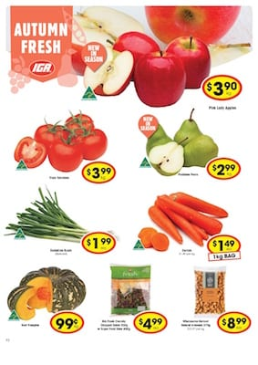 IGA Catalogue Healthy Foods Apr 2016