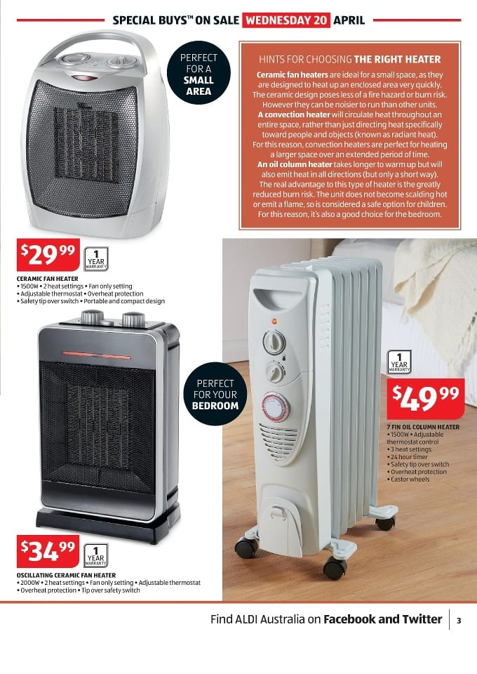 Easy Home Ceramic Fan Heater Aldi Best Ceramic In 2018
