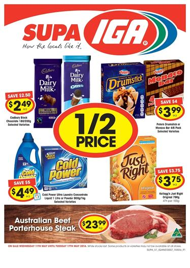 IGA Catalogue Sale 10 May 2016