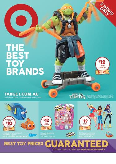 Target Catalogue Toy Sale May 2016