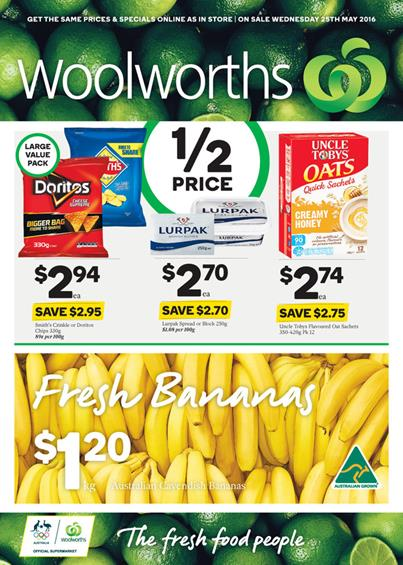 Woolworths Catalogue Specials 25 31 May 2016