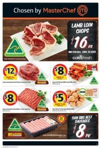 coles meat 30 may 2016