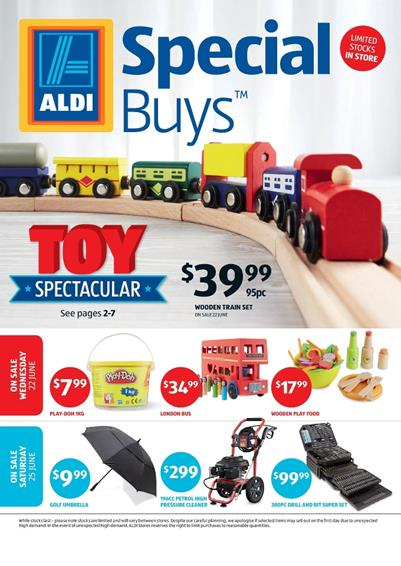 ALDI Catalogue Special Buys Week 25 Toy Sale 2016