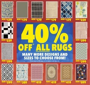 Harvey Norman Catalogue Clearance June 2016 Rugs
