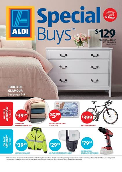 aldi catalogue special buys week 28 2016. Black Bedroom Furniture Sets. Home Design Ideas