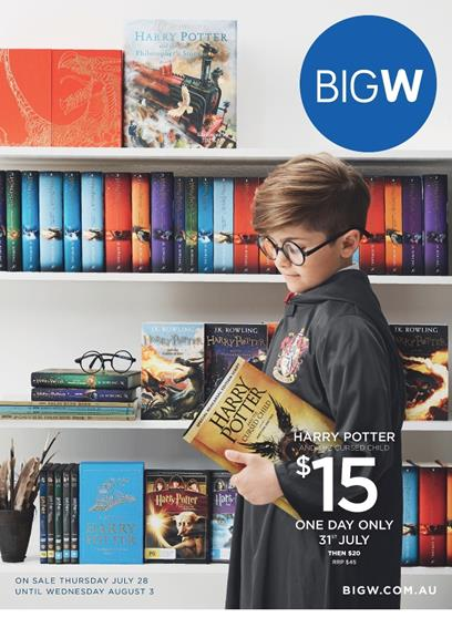 Big W Catalogue Books and Clothing 28 Jul 2016