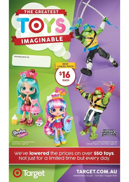 Target Catalogue Greatest Toy Sale 2016