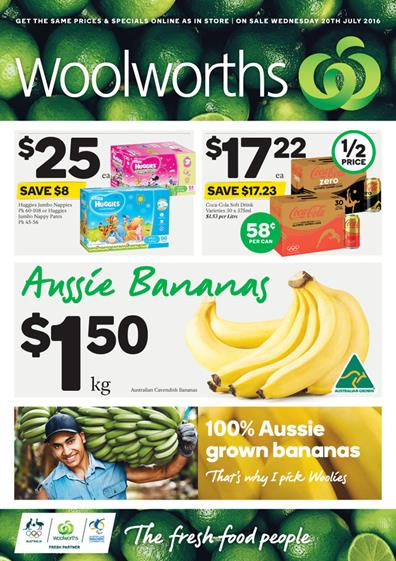 Woolworths Catalogue 20 Jul 2016