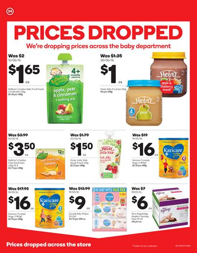 Woolworths Catalogue 27 Jul - 2 Aug 2016 Page 34