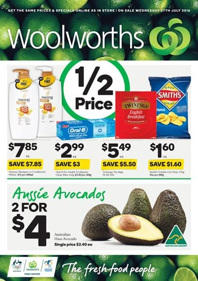 Woolworths Catalogue 27 Jul - 2 Aug 2016