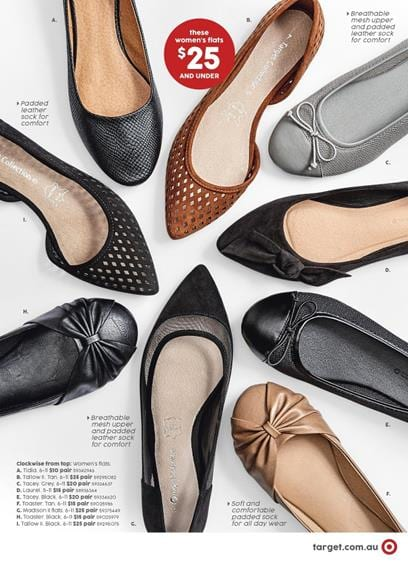 8962a001a Target Catalogue 11 - 24 Aug 2016 Women s Shoes